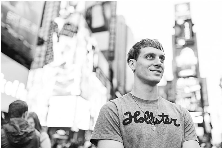 New York City Christmas Tradition Virginia DC Wedding Photographer Times Square
