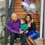 New Year's Themed Family Session in Historic Occoquan