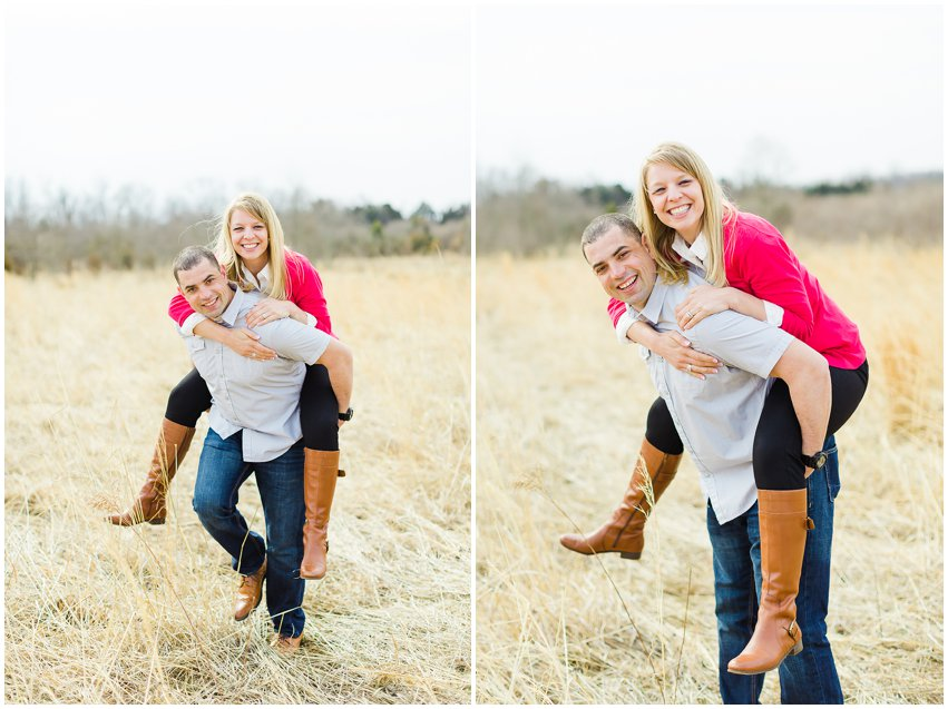 Adoption Announcement Virginia Photographer Manassas Battlefield Family Couple Portraits