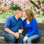 Ben & Carolyn: A Cherry Blossom Engagement Session