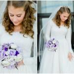 Victoria's Cherry Blossom Bridal Portraits