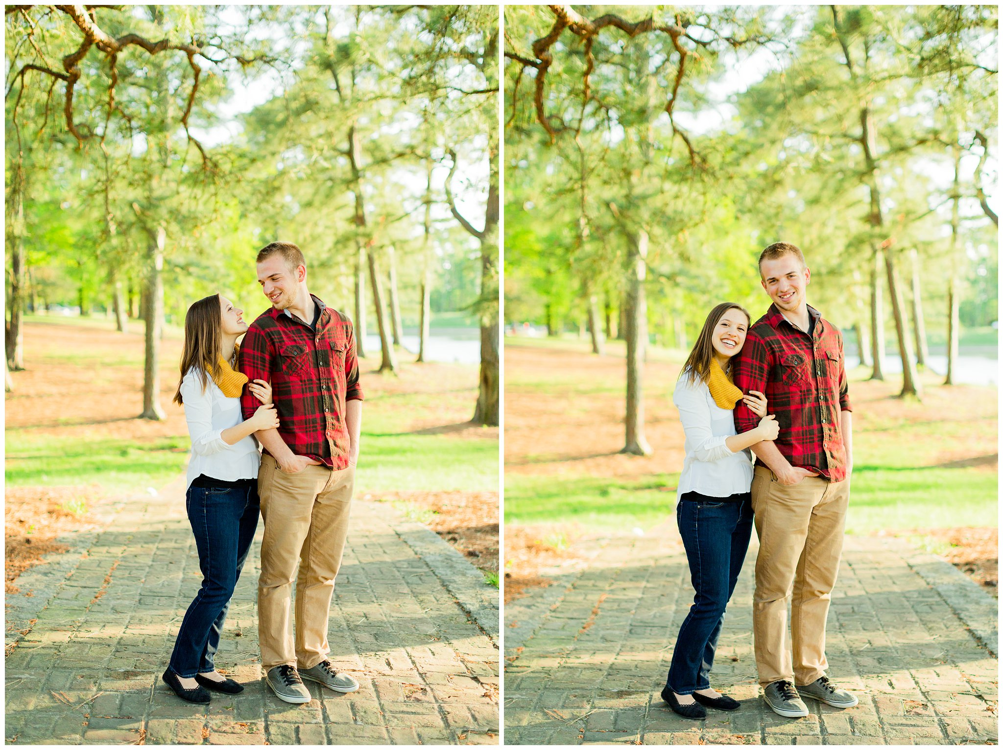 Maymont Richmond Engagement Session Engaged Couple Garden Park Gazebo Fairytale Love