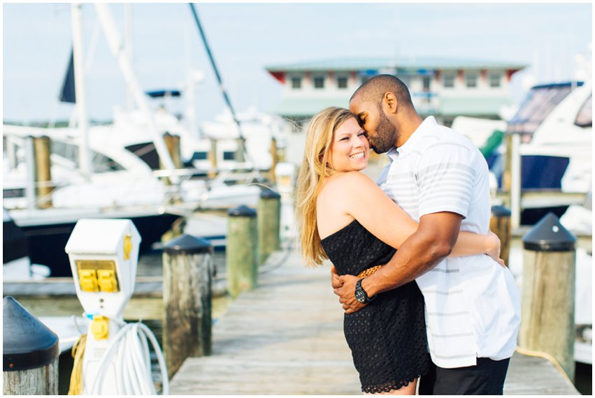 Annapolis Engagement Session Nautical Waterfront Boat Marina Shoot Photographer Virginia Maryland DC Megan Kelsey