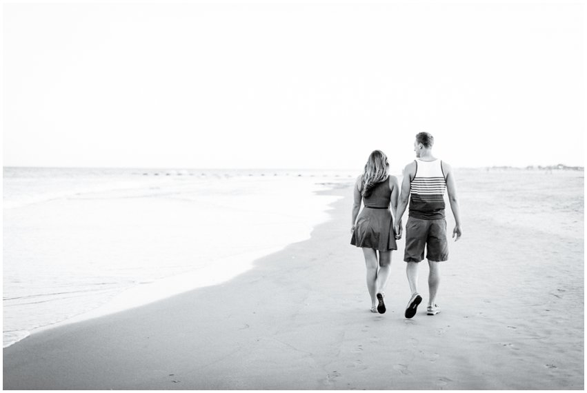 Wildwood New Jersey Beach Portraits Cape May Photographer Couple Love