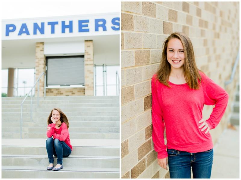 Northern Virginia Senior Photographer | Caitlin | Potomac Senior High School