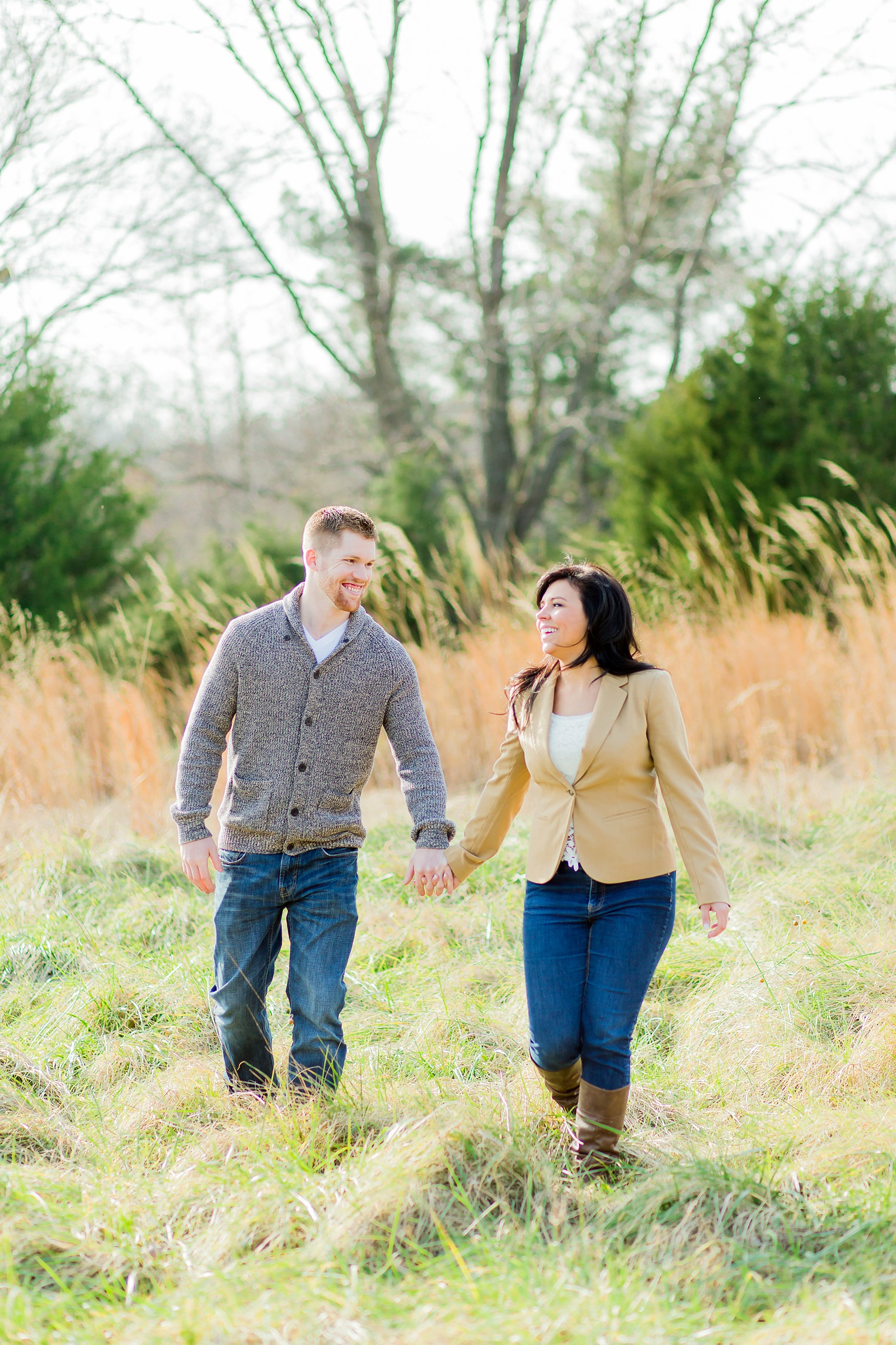 Historic Occoquan Virginia Winter Engagement Session