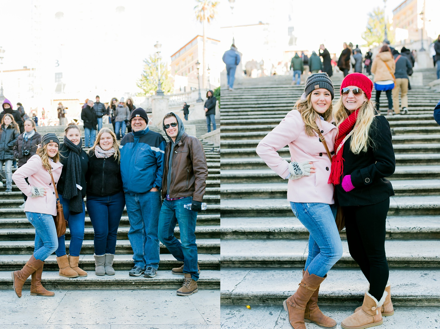 Megan Kelsey Photography Christmas in Europe Vatican City Trevi Fountain Paul's Outside the Walls Rome Italy
