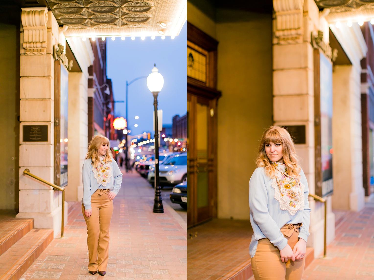 Springfield Missouri Editorial Photography Larissa Dress Presh