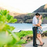 Ari & Fuji | A Sunset Portrait Session At Makapu'u | Oahu, Hawaii Photographer