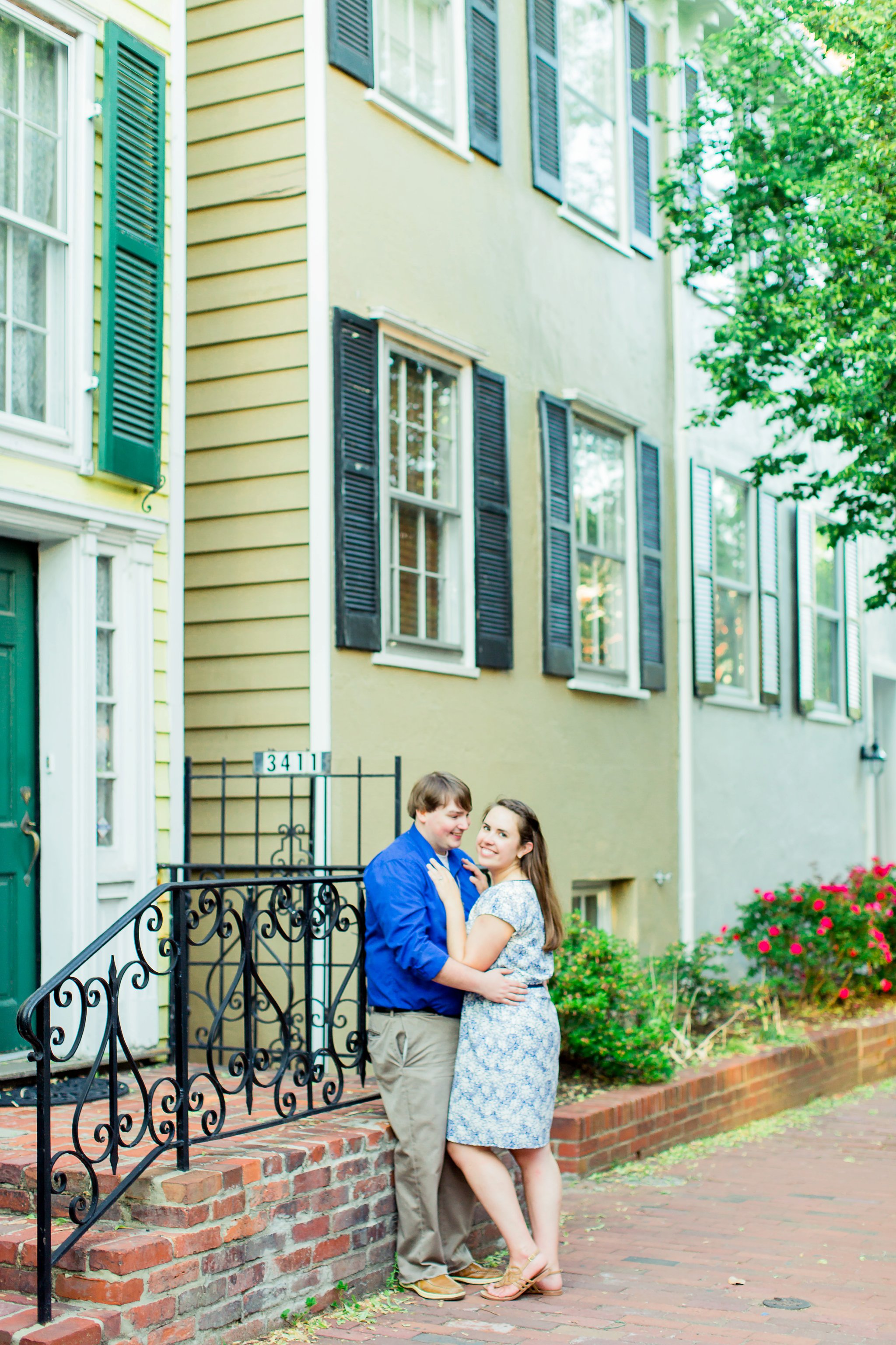 Georgetown Engagement Photography Lindsay & Joey DC Wedding Photographer-1694.jpg