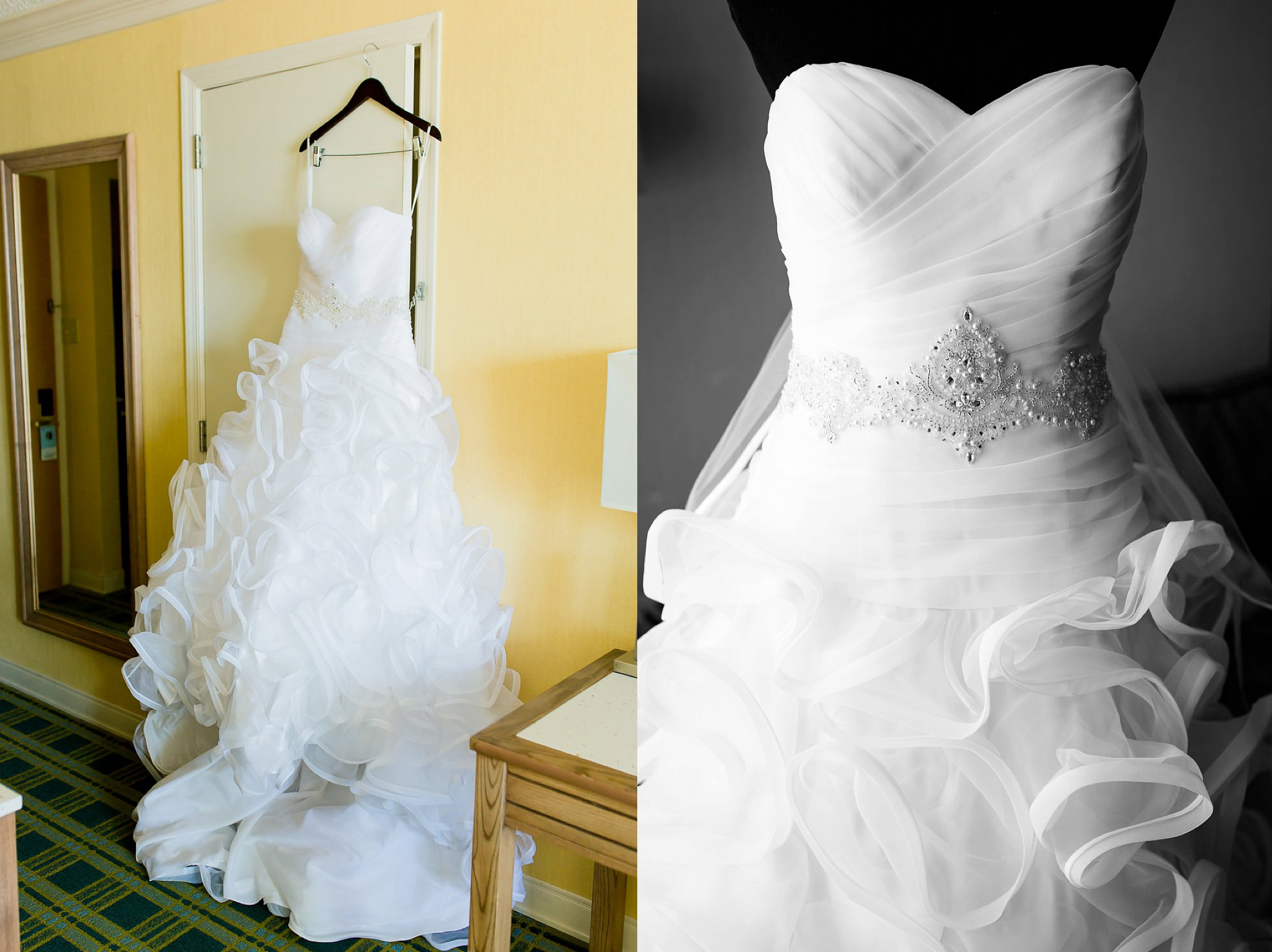 Sheraton virginia beach wedding photographer for Wedding dresses in hampton roads