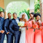 Navy & Coral Waterford Springfield Wedding | Dyanna & Brian