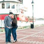 Baltimore City Engagement Photos | Halie & Mike | Fell's Point & Federal Hill Park