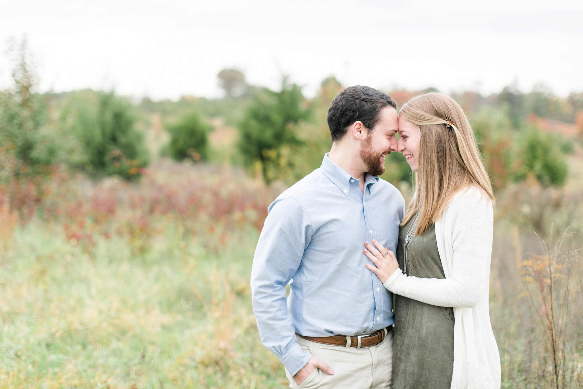 Portrait Photography Leesburg VA | Adam & Danielle | A Rustic Fall Shoot At 48 Fields