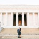 Washington DC Anniversary Photos | Dan & Angela | Lincoln Memorial Sunrise Shoot