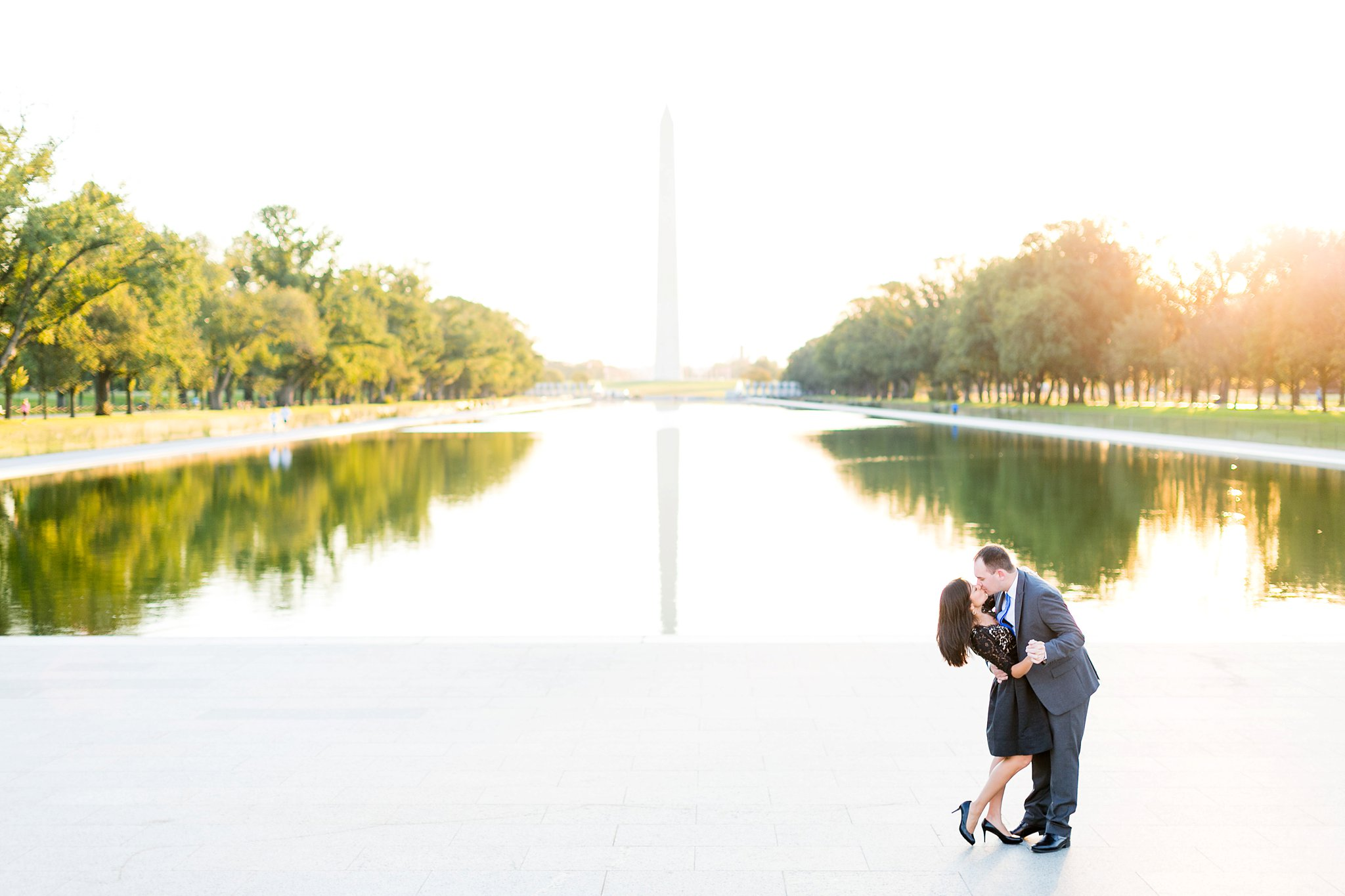Washington DC Anniversary Photographer Lincoln Memorial Sunrise Shoot Angela & Dan-25.jpg