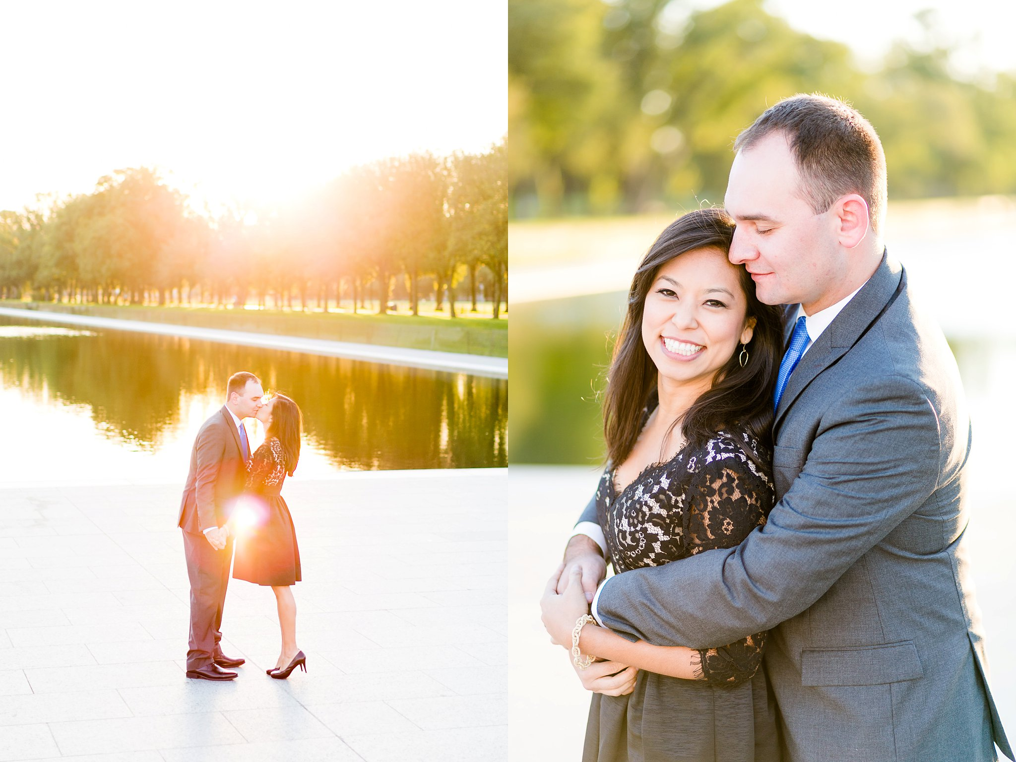 Washington DC Anniversary Photographer Lincoln Memorial Sunrise Shoot Angela & Dan-27.jpg