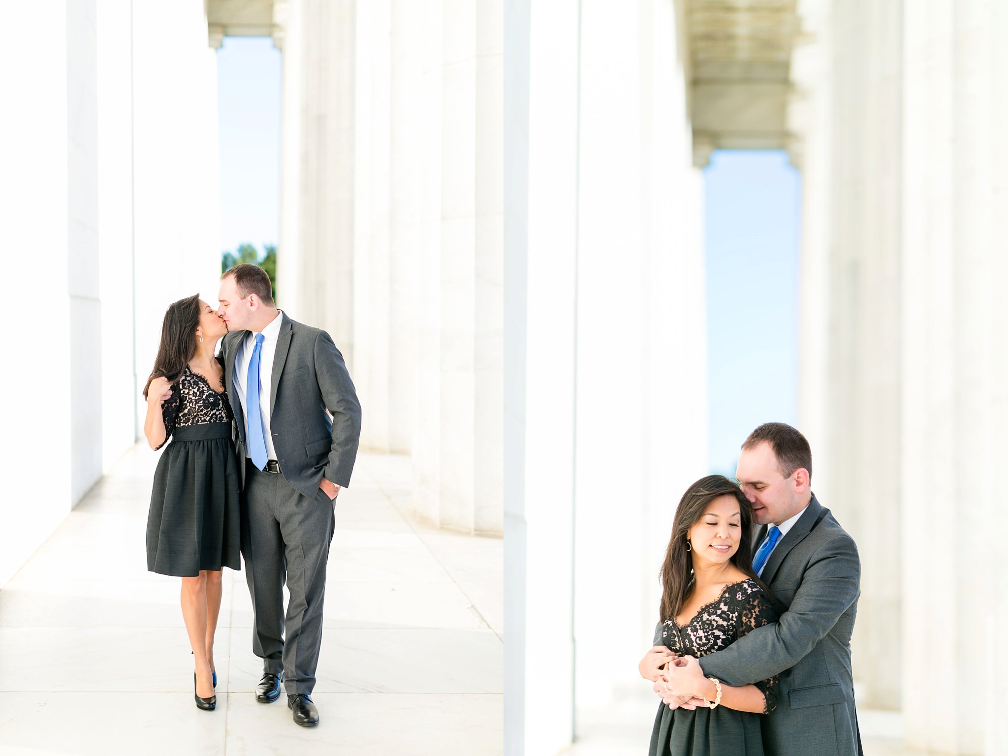 Washington DC Anniversary Photographer Lincoln Memorial Sunrise Shoot Angela & Dan-51.jpg