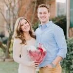 My Bridal Shower | A Pink & Gold Brunch Celebration | Happily Ever Glasbrenner