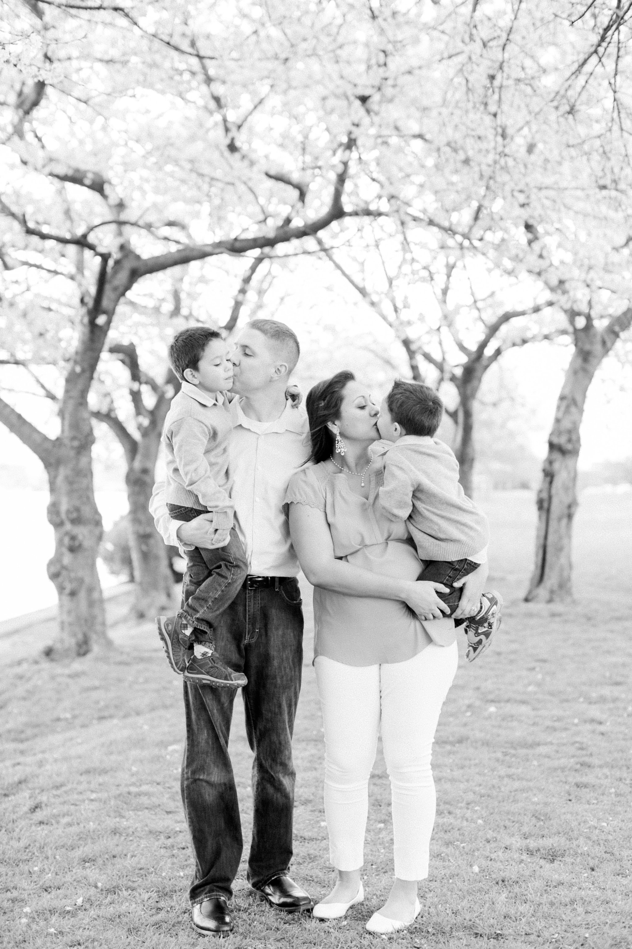Washington DC Family Photographer Cherry Blossom Portraits Clark Family Megan Kelsey Photography-63.jpg