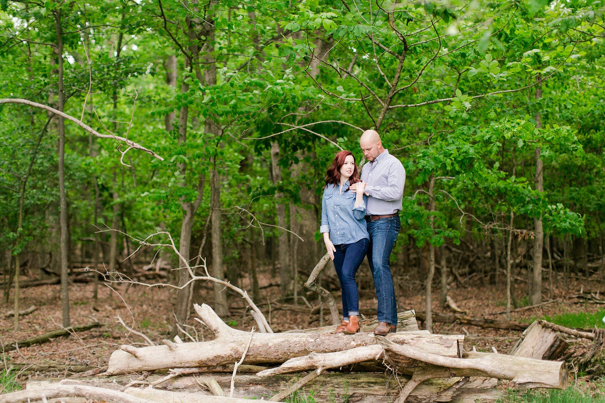 Old Town Manassas Battlefield Engagement Photos Virginia Wedding Photographer Jessica & Jason-152.jpg