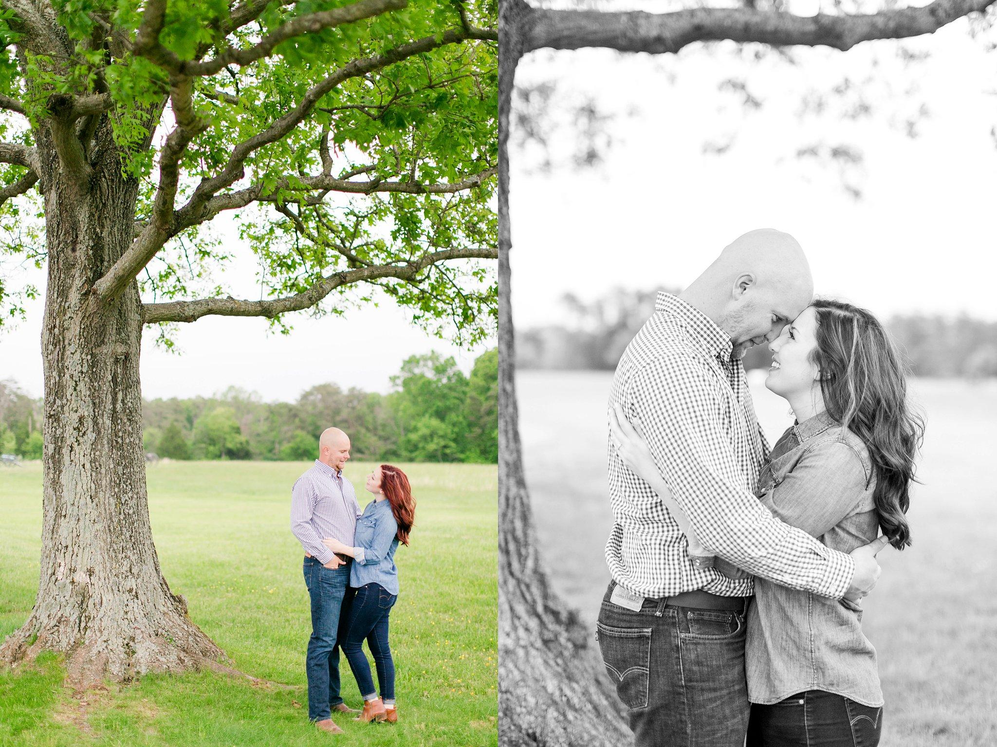 Old Town Manassas Battlefield Engagement Photos Virginia Wedding Photographer Jessica & Jason-174.jpg