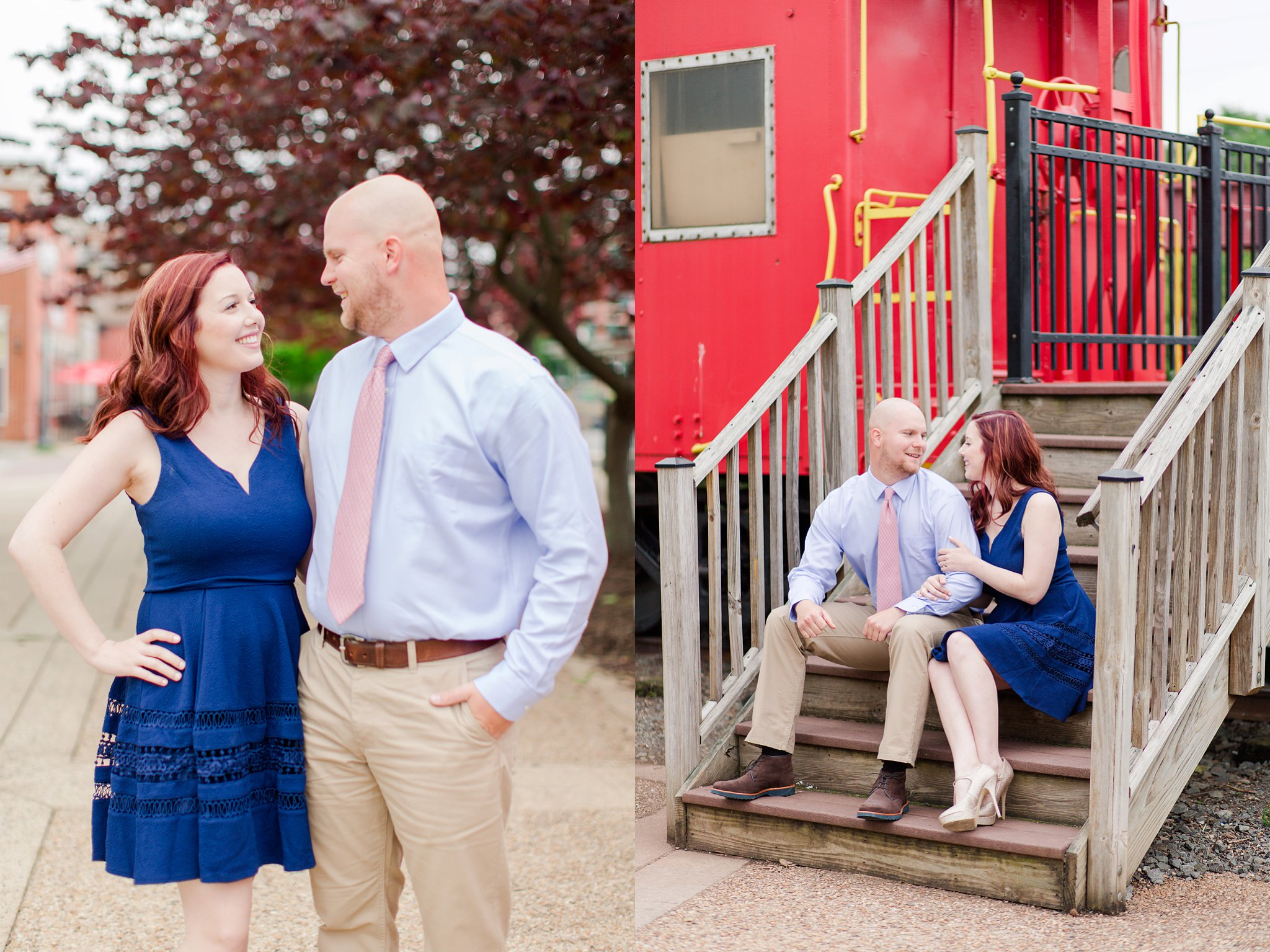 Old Town Manassas Battlefield Engagement Photos Virginia Wedding Photographer Jessica & Jason-3.jpg
