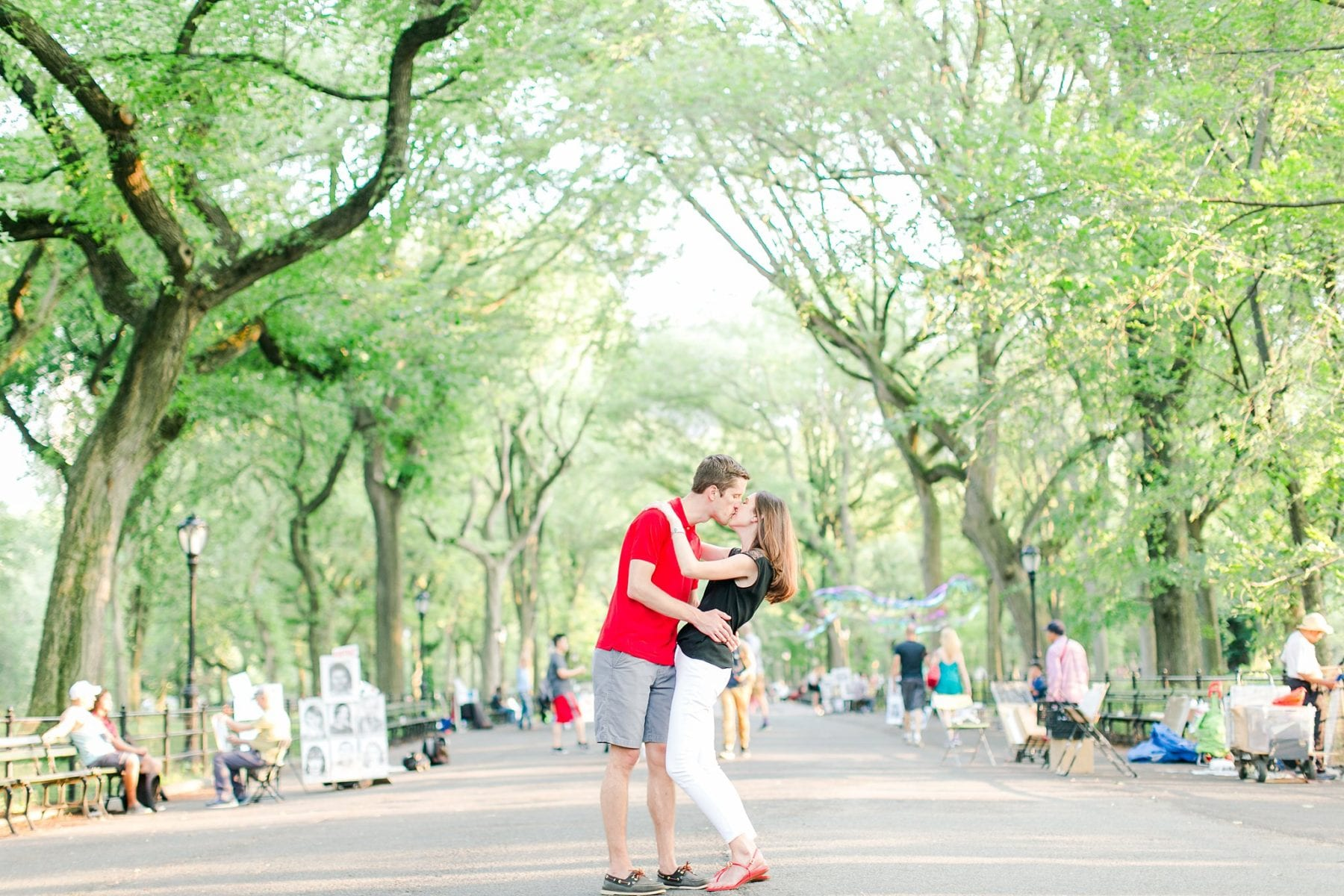 West Village Central Park Engagement Photos NYC Wedding Photographer Megan Kelsey Photography-226.jpg