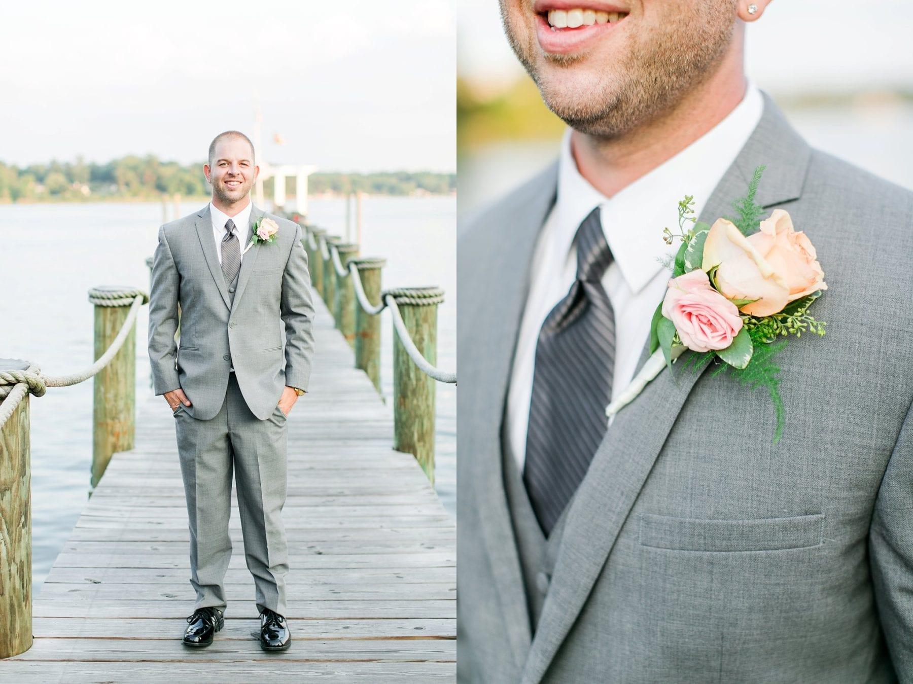 Water\'s Edge Coastal Maryland Wedding Photos