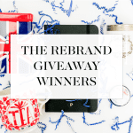 And The Winners of the Rebrand Giveaways Are…!