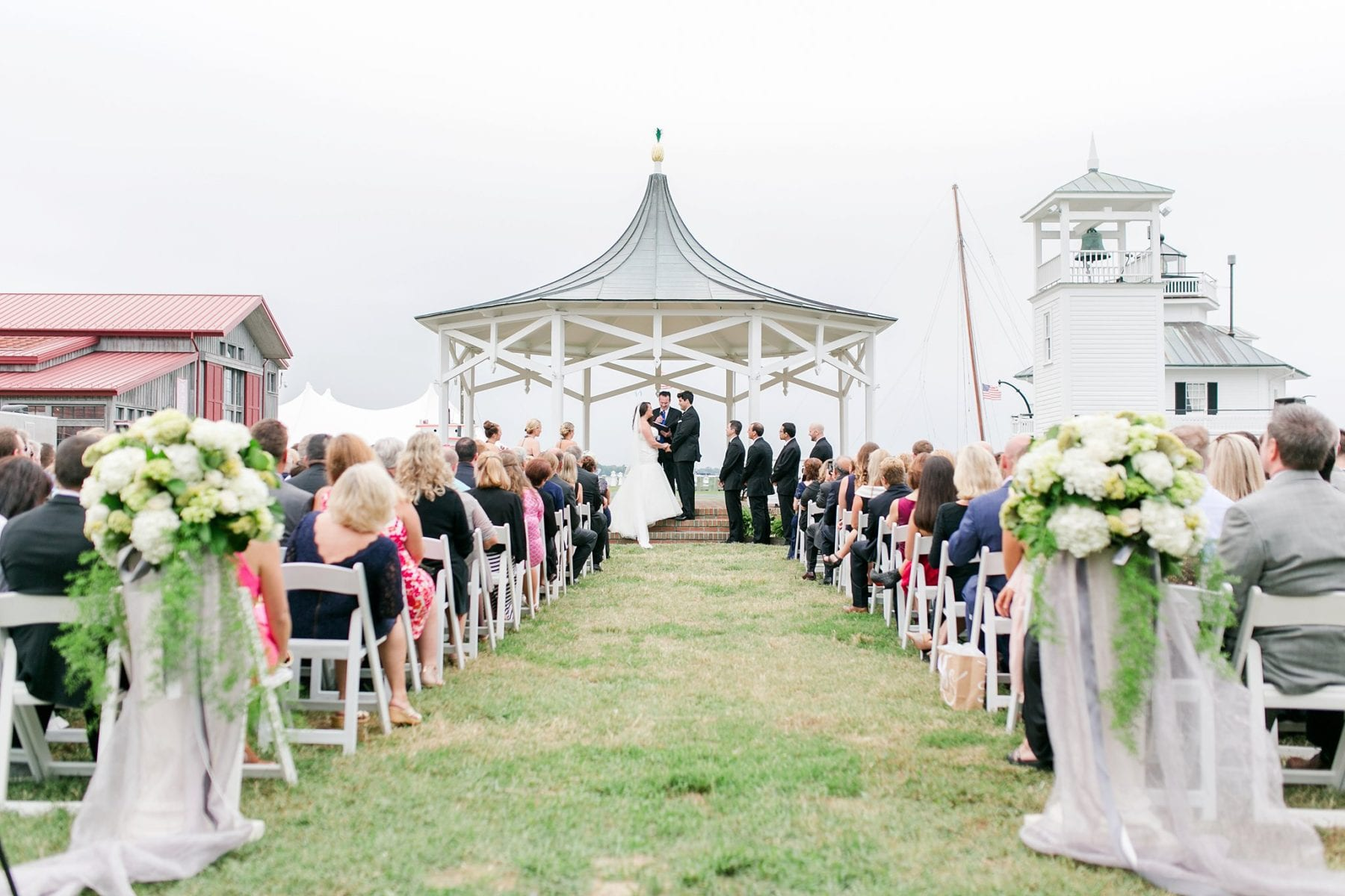 Chesapeake Bay Maritime Museum Wedding Photos Maryland Photographer Megan Kelsey Photography Halie Mike