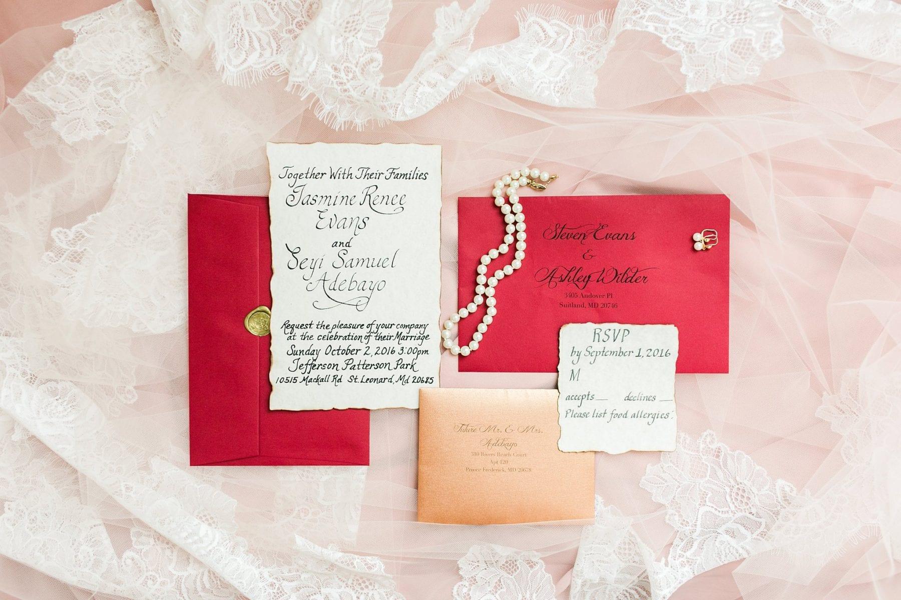 Jefferson Patterson Park Wedding | Jasmine & Seyi