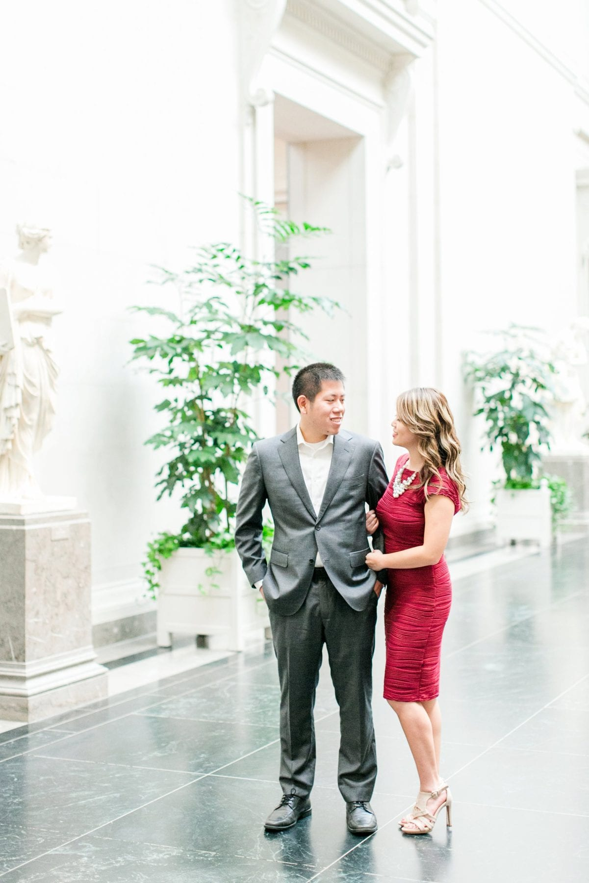 National Gallery of Art Engagement Photos Megan Kelsey Photography Washington DC Wedding Photographer Sy-yu & Anthony-108.jpg