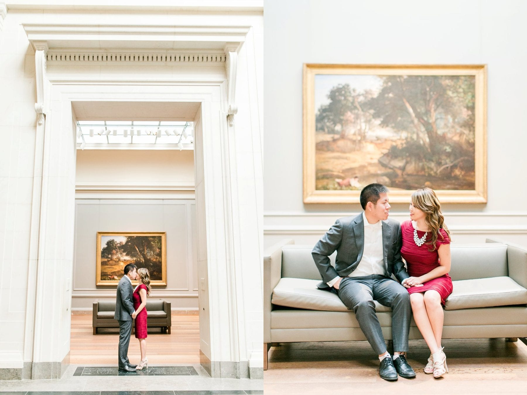 National Gallery of Art Engagement Photos Megan Kelsey Photography Washington DC Wedding Photographer Sy-yu & Anthony-116.jpg