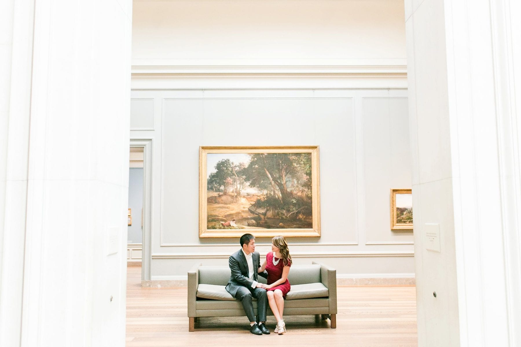 National Gallery of Art Engagement Photos Megan Kelsey Photography Washington DC Wedding Photographer Sy-yu & Anthony-118.jpg