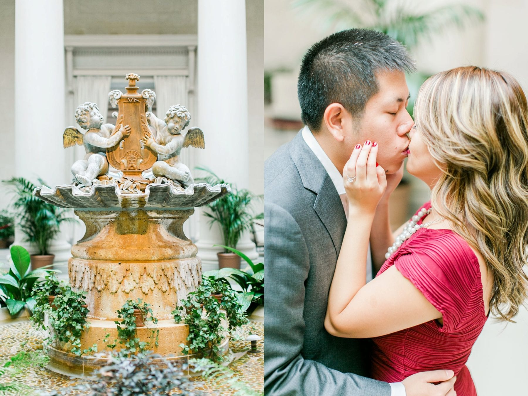 National Gallery of Art Engagement Photos Megan Kelsey Photography Washington DC Wedding Photographer Sy-yu & Anthony-126.jpg
