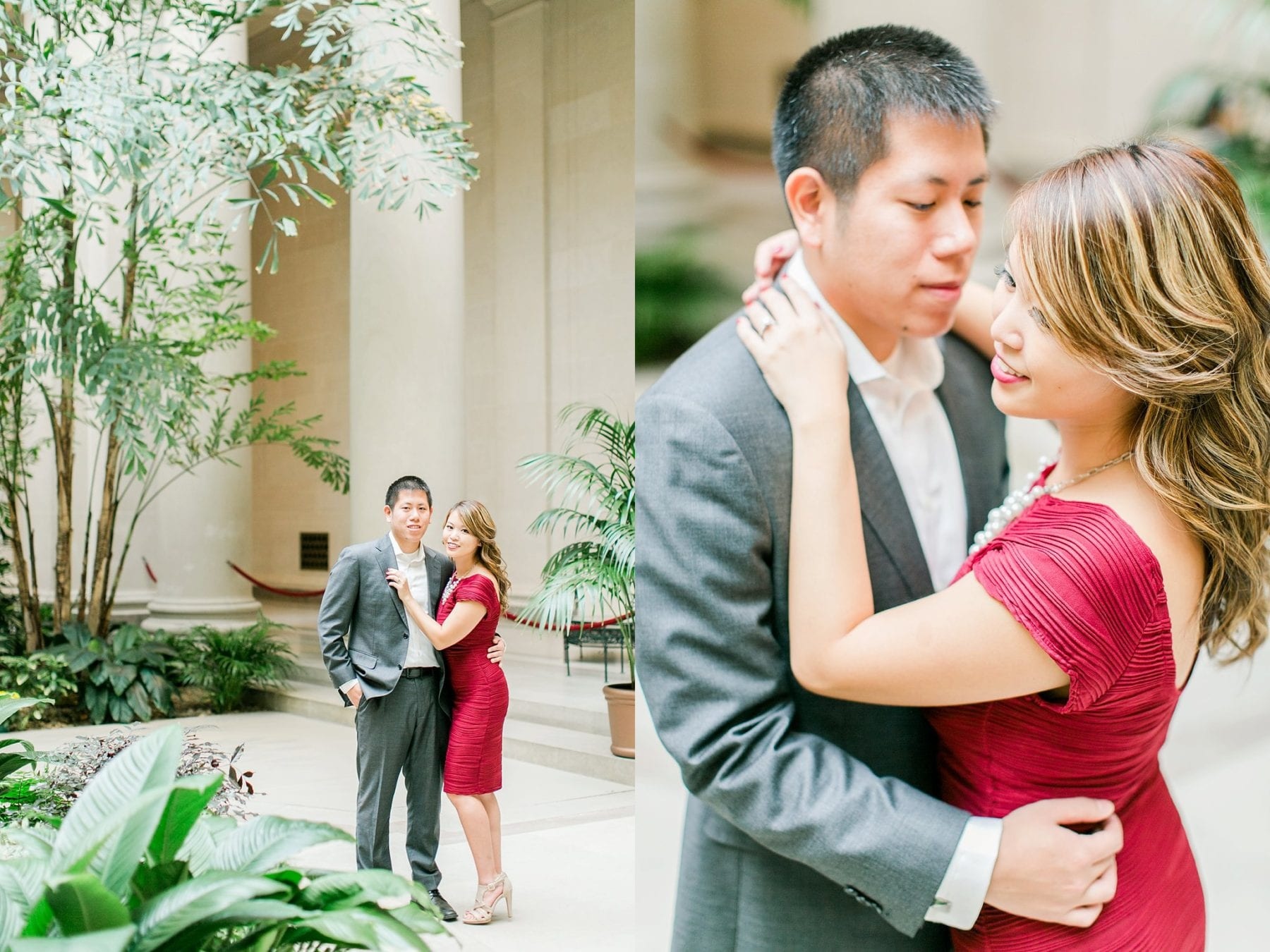 National Gallery of Art Engagement Photos Megan Kelsey Photography Washington DC Wedding Photographer Sy-yu & Anthony-151.jpg