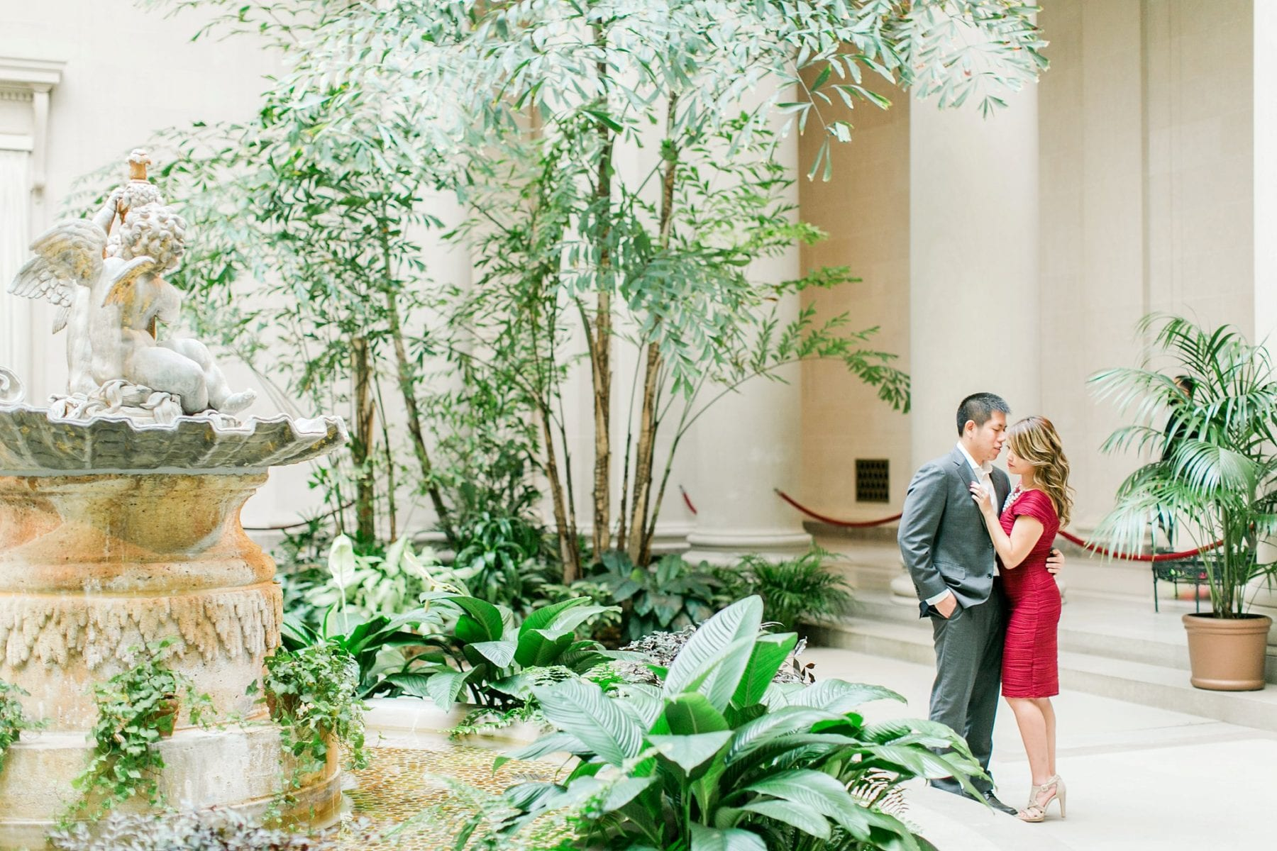 National Gallery of Art Engagement Photos Megan Kelsey Photography Washington DC Wedding Photographer Sy-yu & Anthony-155.jpg