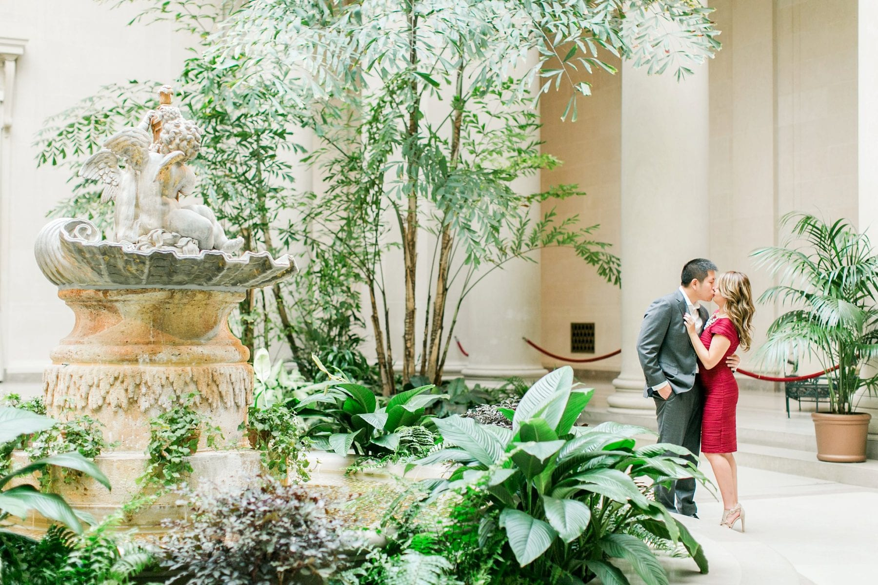 National Gallery of Art Engagement Photos Megan Kelsey Photography Washington DC Wedding Photographer Sy-yu & Anthony-158.jpg