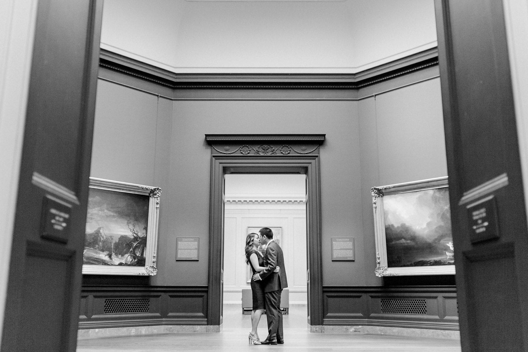 National Gallery of Art Engagement Photos Megan Kelsey Photography Washington DC Wedding Photographer Sy-yu & Anthony-175.jpg