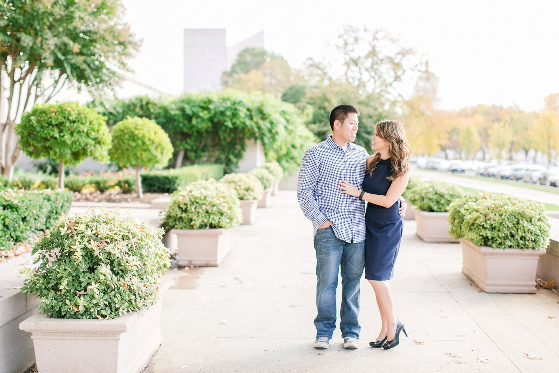 National Gallery of Art Engagement Photos Megan Kelsey Photography Washington DC Wedding Photographer Sy-yu & Anthony-2.jpg