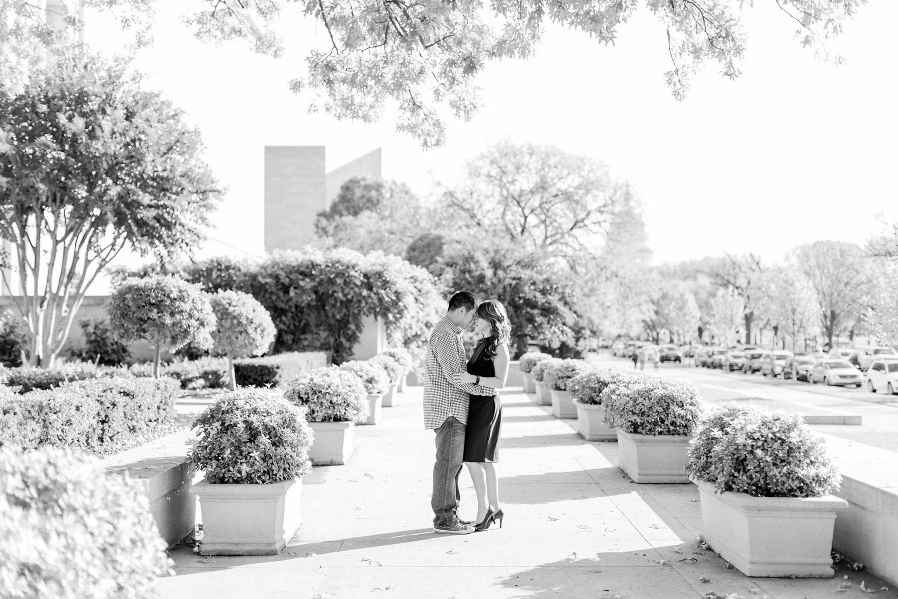 National Gallery of Art Engagement Photos Megan Kelsey Photography Washington DC Wedding Photographer Sy-yu & Anthony-5.jpg