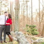 Bluemont Vineyard Engagement Photos | Colleen & Matt | A Virginia Wine Country Winter Engagement Session
