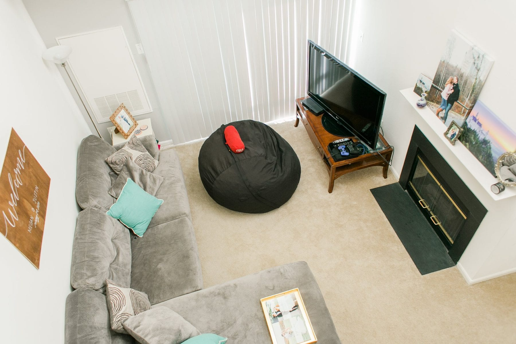 Our First Apartment Simple Newlywed Home Style Justin & Megan Kelsey Photography-1