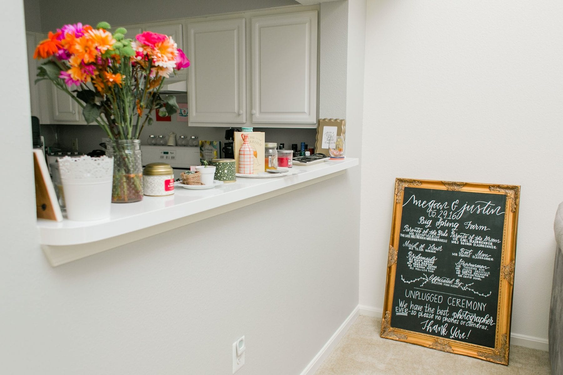 Our First Apartment Simple Newlywed Home Style Justin & Megan Kelsey Photography-13