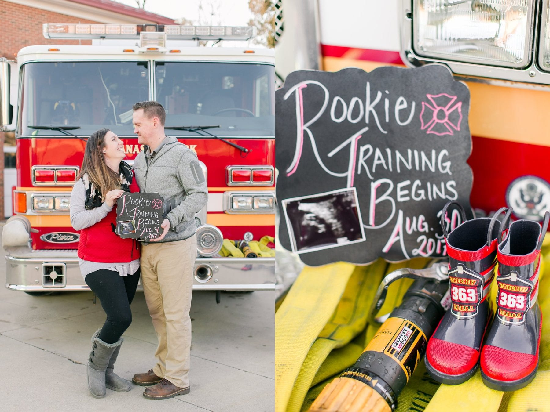 Firefighter Baby Announcement Virginia Photographer Megan Kelsey Photography Jeromy & Becky-33.jpg