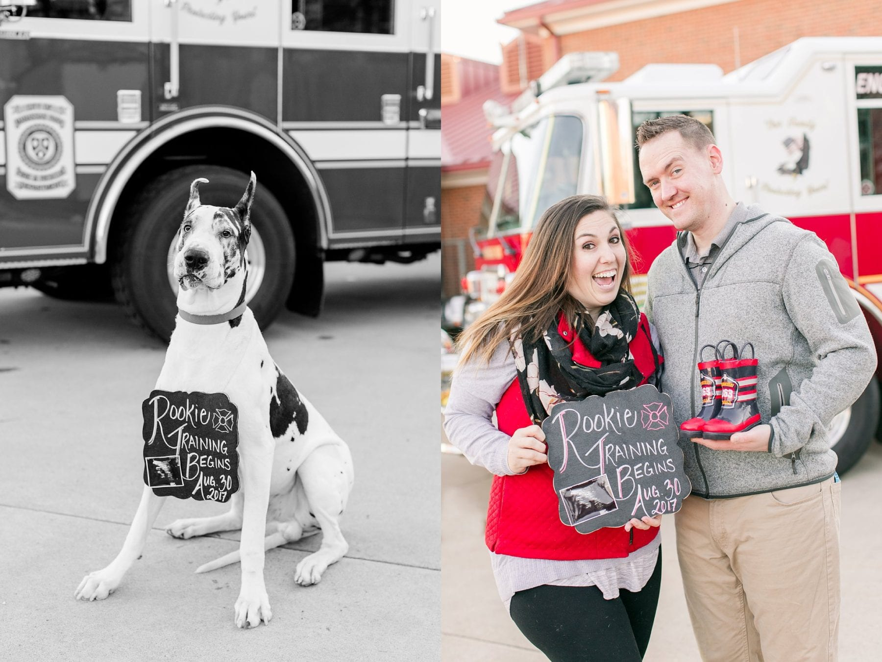 Firefighter Baby Announcement Virginia Photographer Megan Kelsey Photography Jeromy & Becky-69.jpg