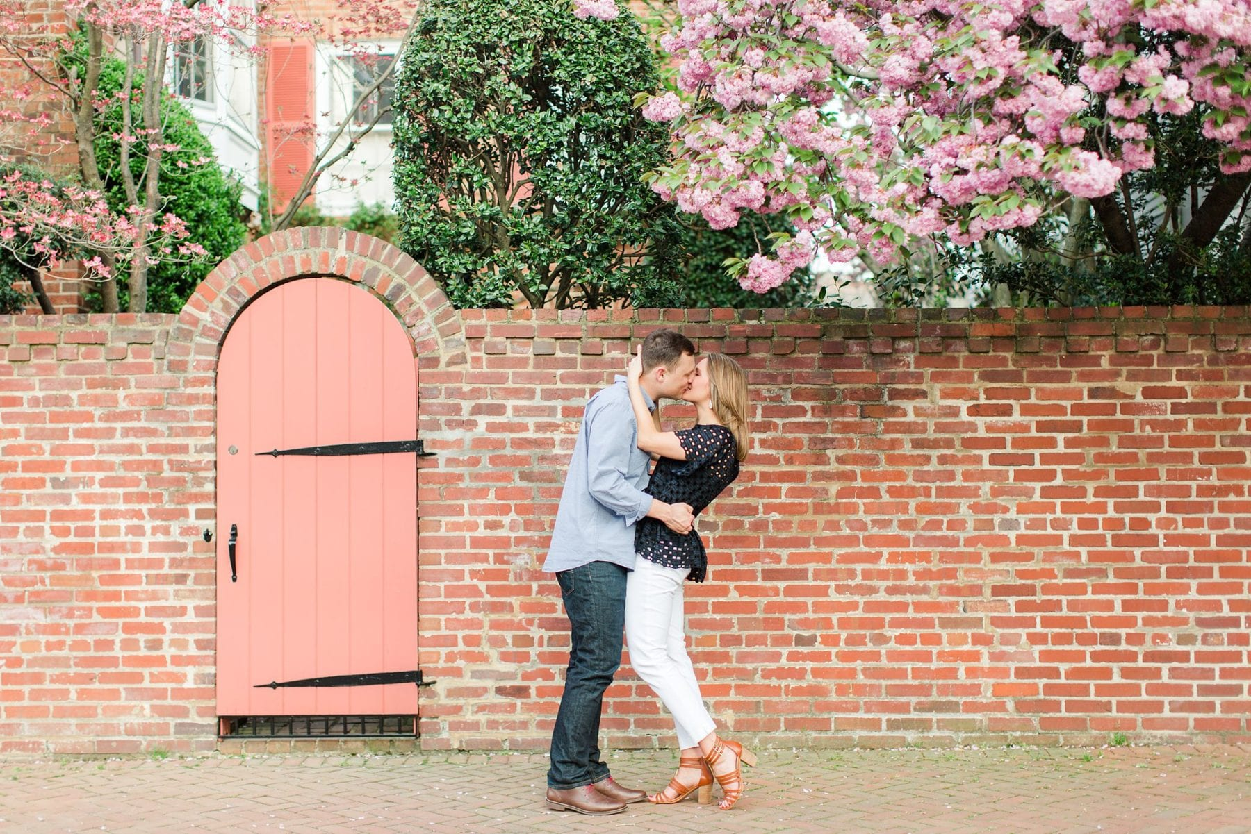 Springtime Old Town Alexandria Engagement Session Matt & Maxie Megan Kelsey Photography-192.jpg