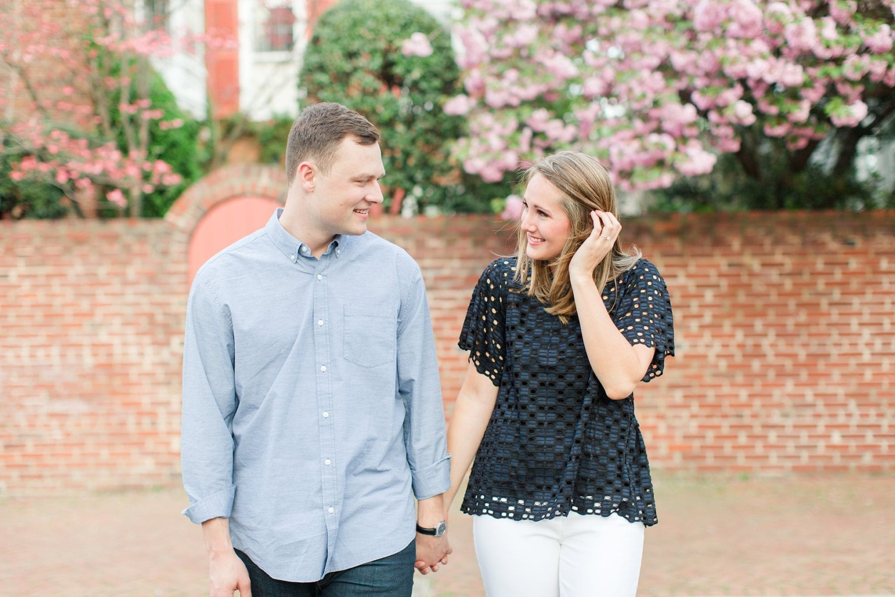 Springtime Old Town Alexandria Engagement Session Matt & Maxie Megan Kelsey Photography-194.jpg