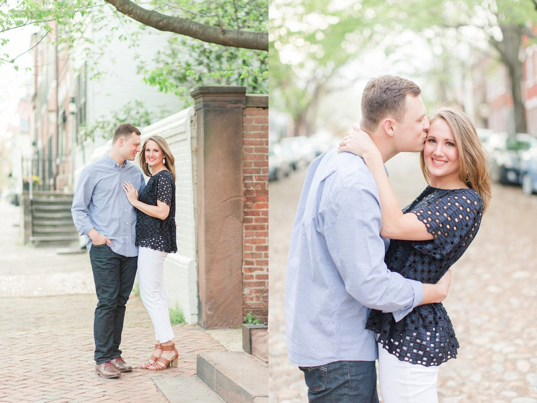 Springtime Old Town Alexandria Engagement Session Matt & Maxie Megan Kelsey Photography-201.jpg